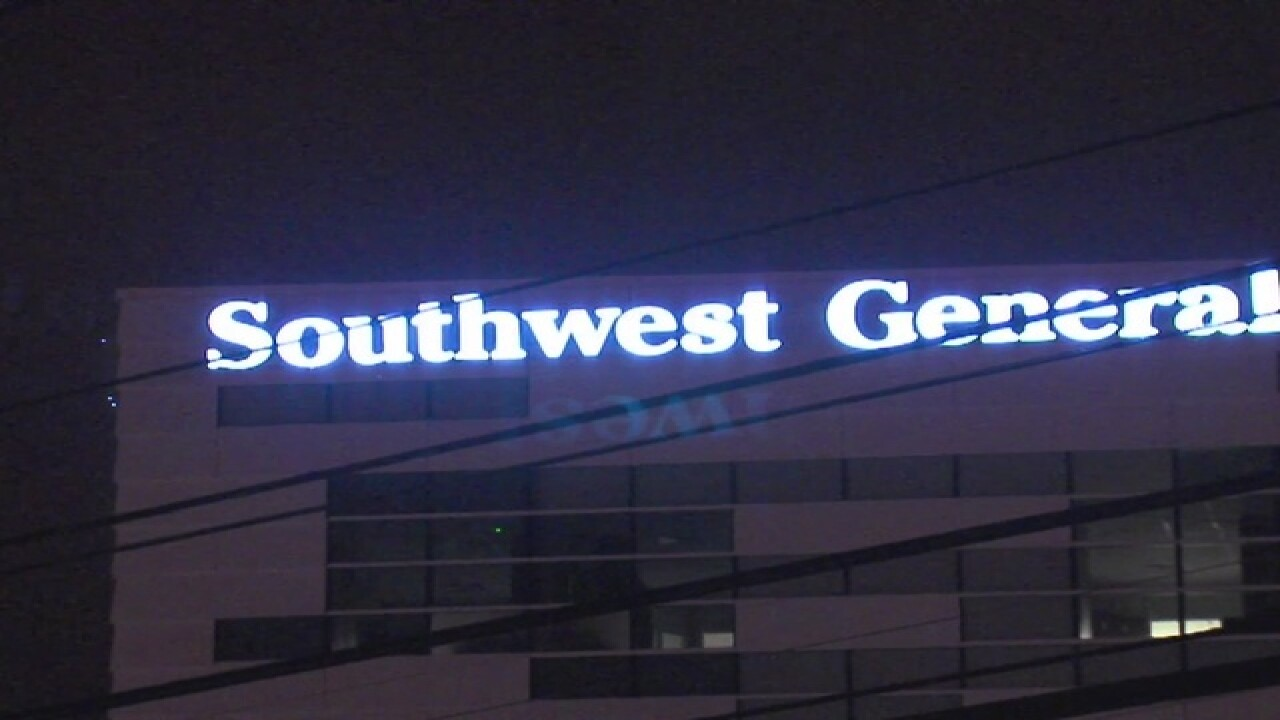 Fire shuts down ER at Southwest General hospital