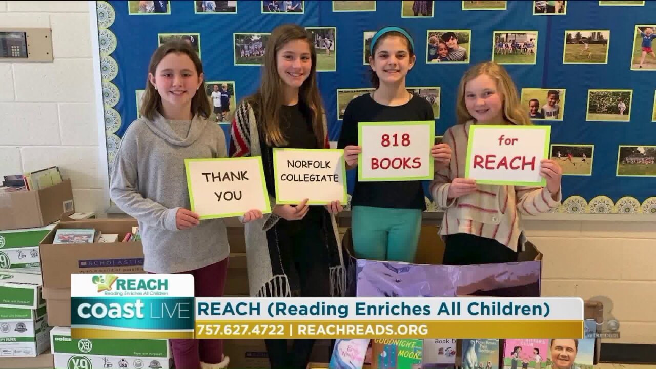 A program that provides reading materials to children in need on CoastLive