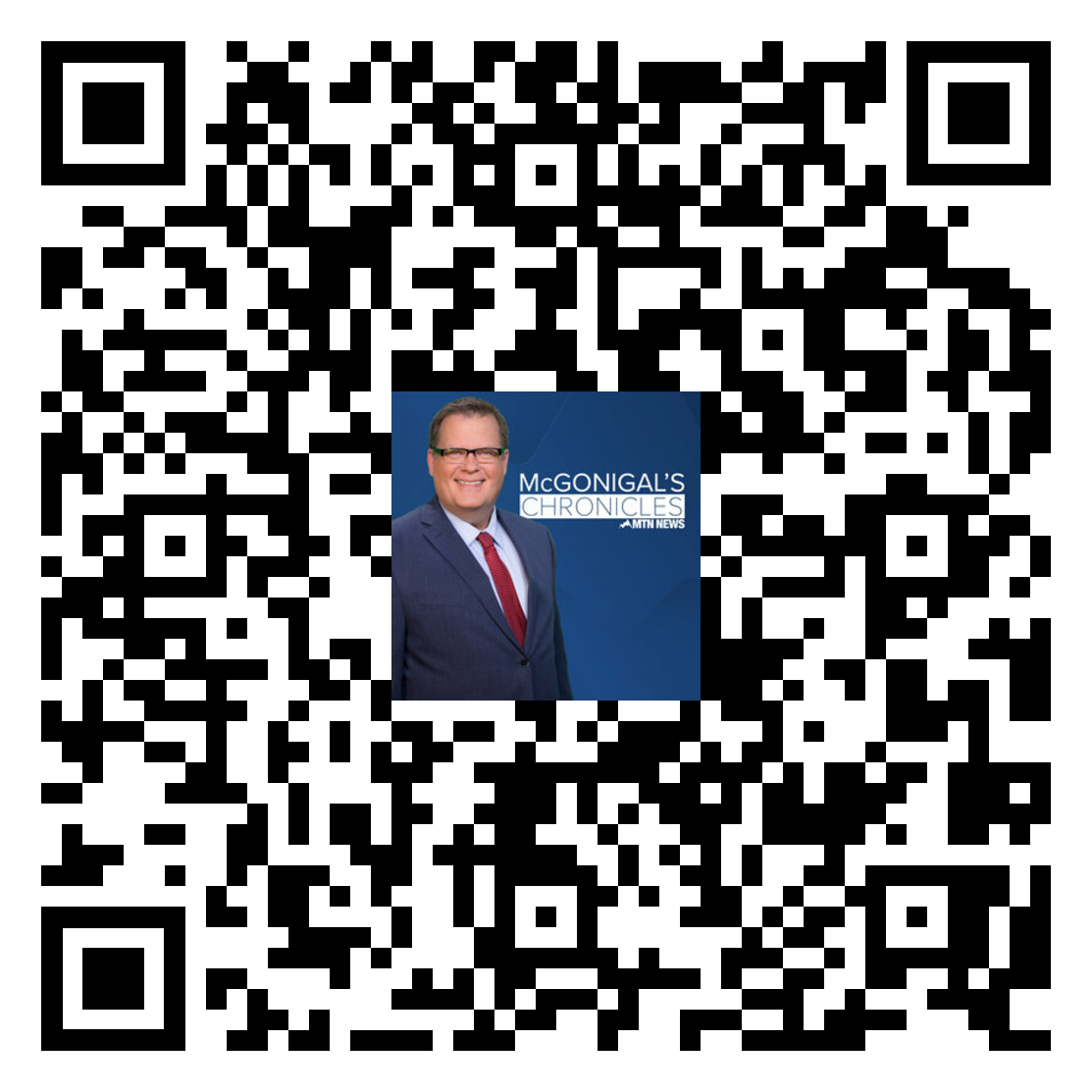 QR CODE: McGONIGAL'S CHRONICLES