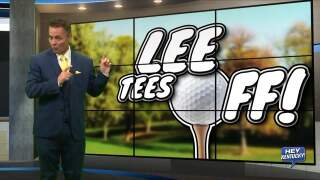 """Lee Tees Off!"""