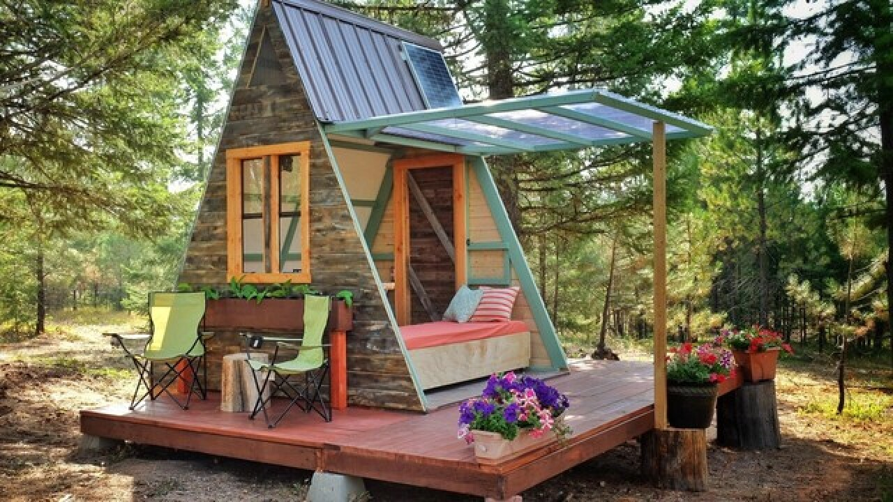 This couple built a tiny house for only $700