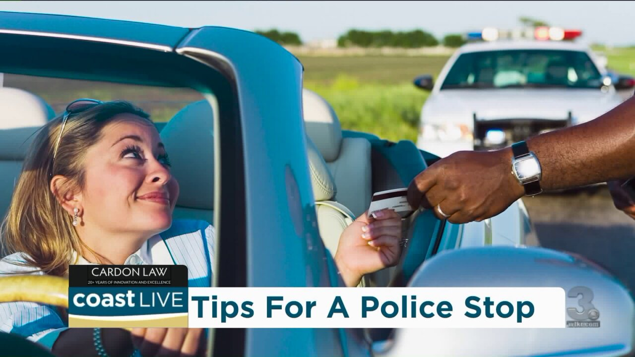 Learning what to do, and not to do, if pulled over by police on CoastLive
