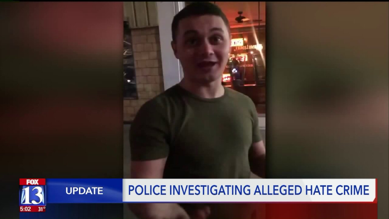 Victim in alleged hate crime shares message after police contact suspect