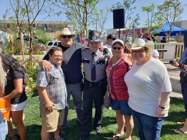 PHOTOS: Butterfly release at Las Vegas Community Healing Garden
