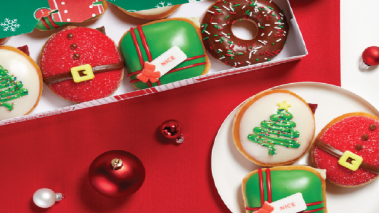 Krispy Kreme Is Introducing Two Decadent New Holiday Doughnuts