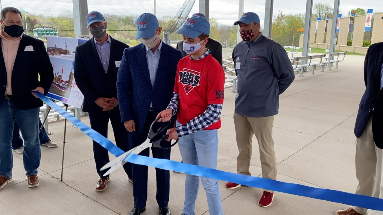 Ribbon cutting at Meijer Sports Complex