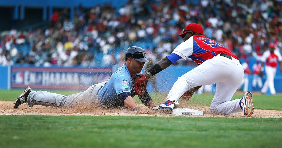 After years of sneaking out, Cuban baseball players no longer have to defect to play in MLB
