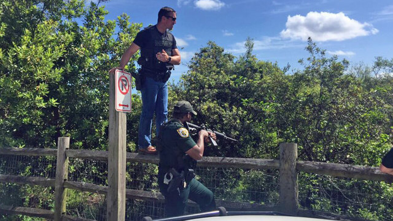 Victor Peel: Burglary suspect captured after multi-hour chase in swamp near Palm Beach Gardens