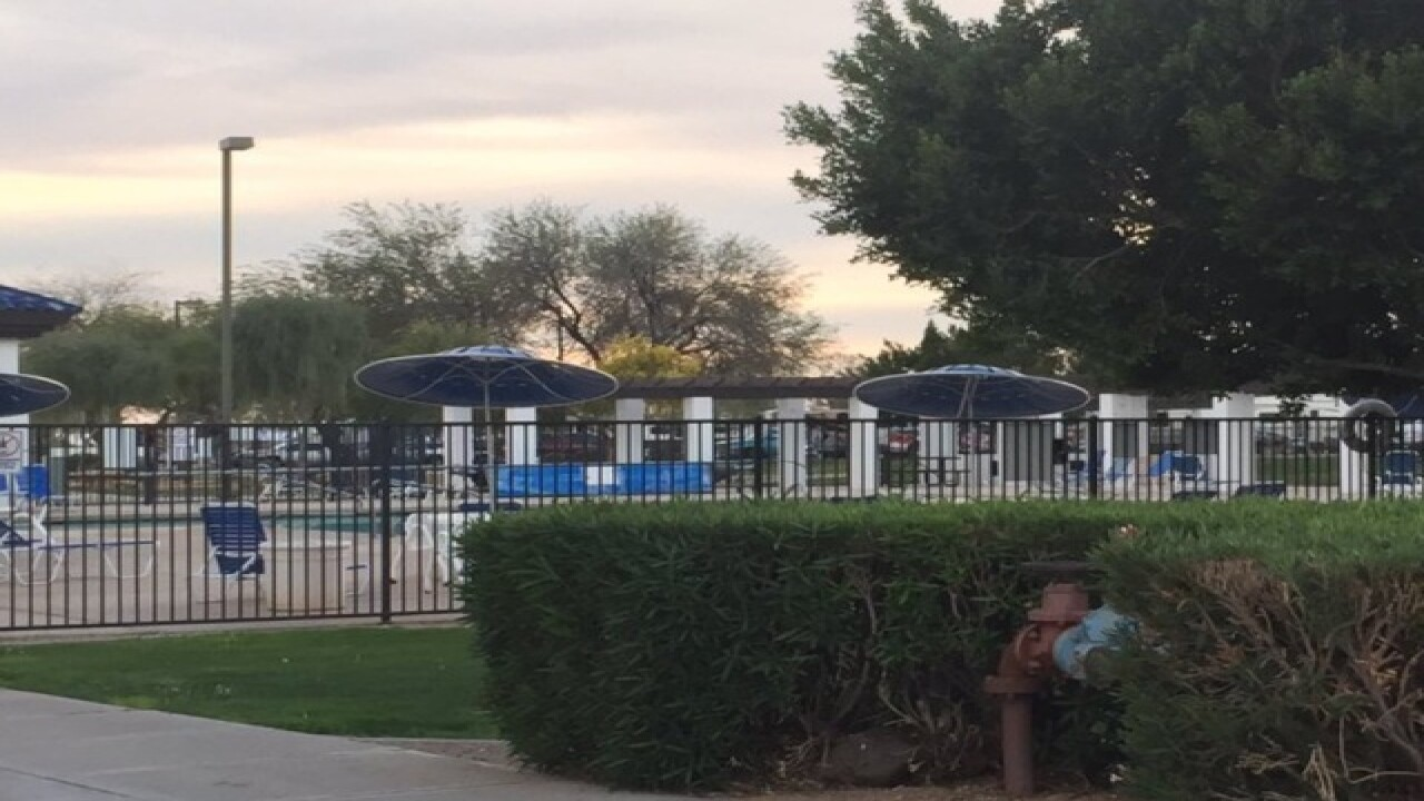 FD: Toddler pulled out from Peoria pool
