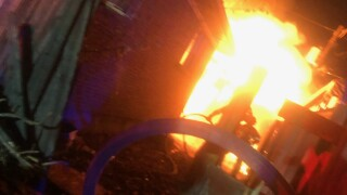 Garage fire after child plays with matches, candles in Westminster