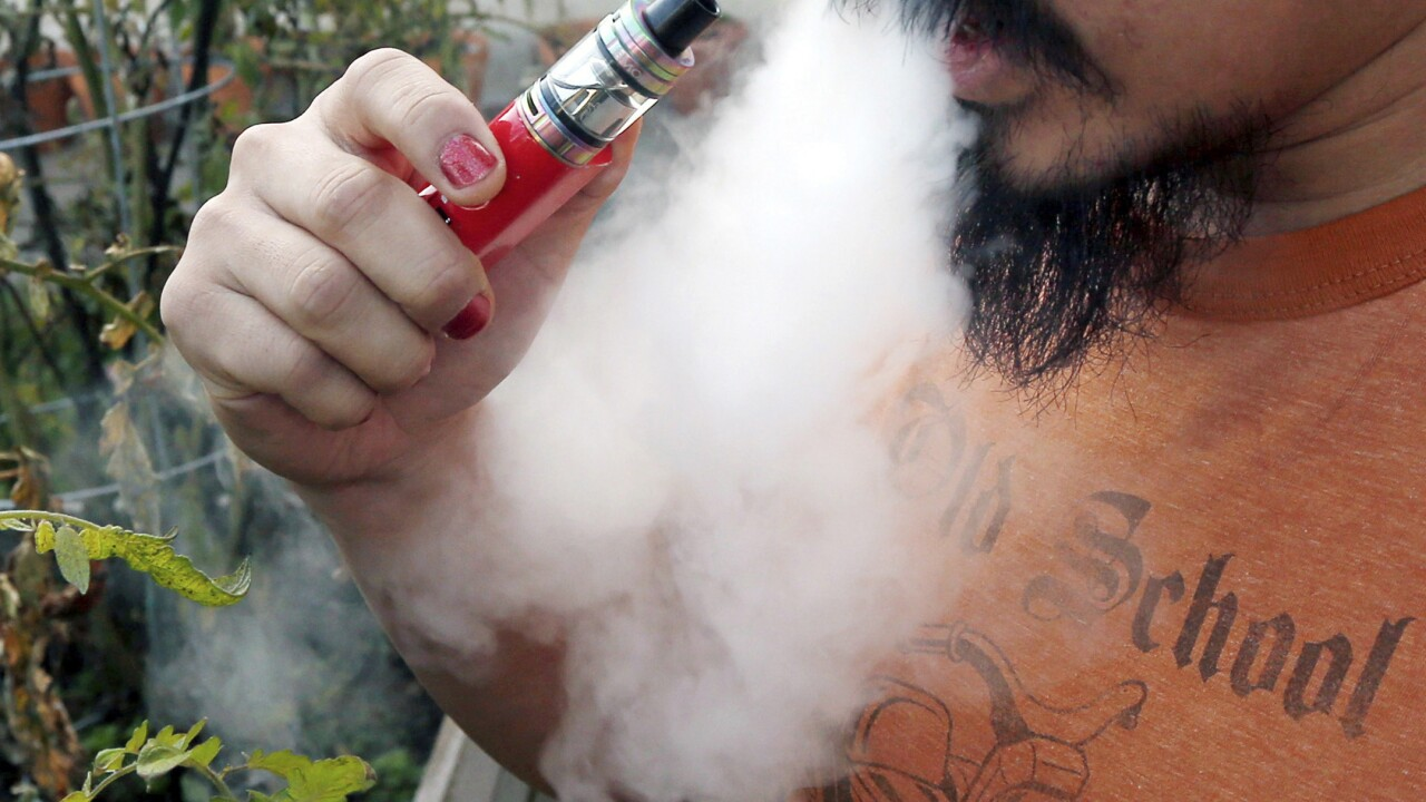Deaths from vaping-related illness top 50; those sickened vaped brands like 'Dank Vapes,' 'TKO'