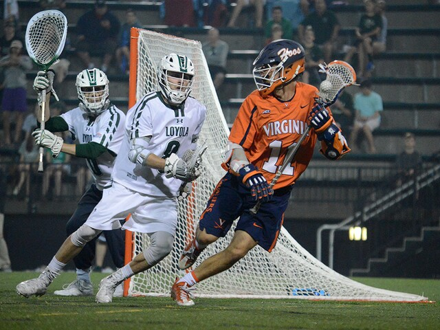 Loyola outruns Virginia 14-12 in NCAA Men's Lacrosse Tournament's First Round