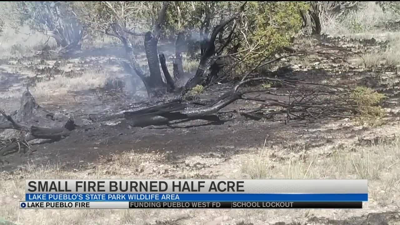 Lake Pueblo small fire.jpg