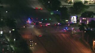 Aerial shots fired outside Palm Beach Outlets