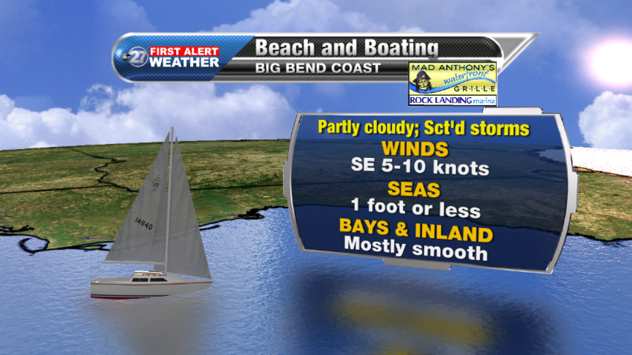 Beach and Boating forecast A (09/21/2017)