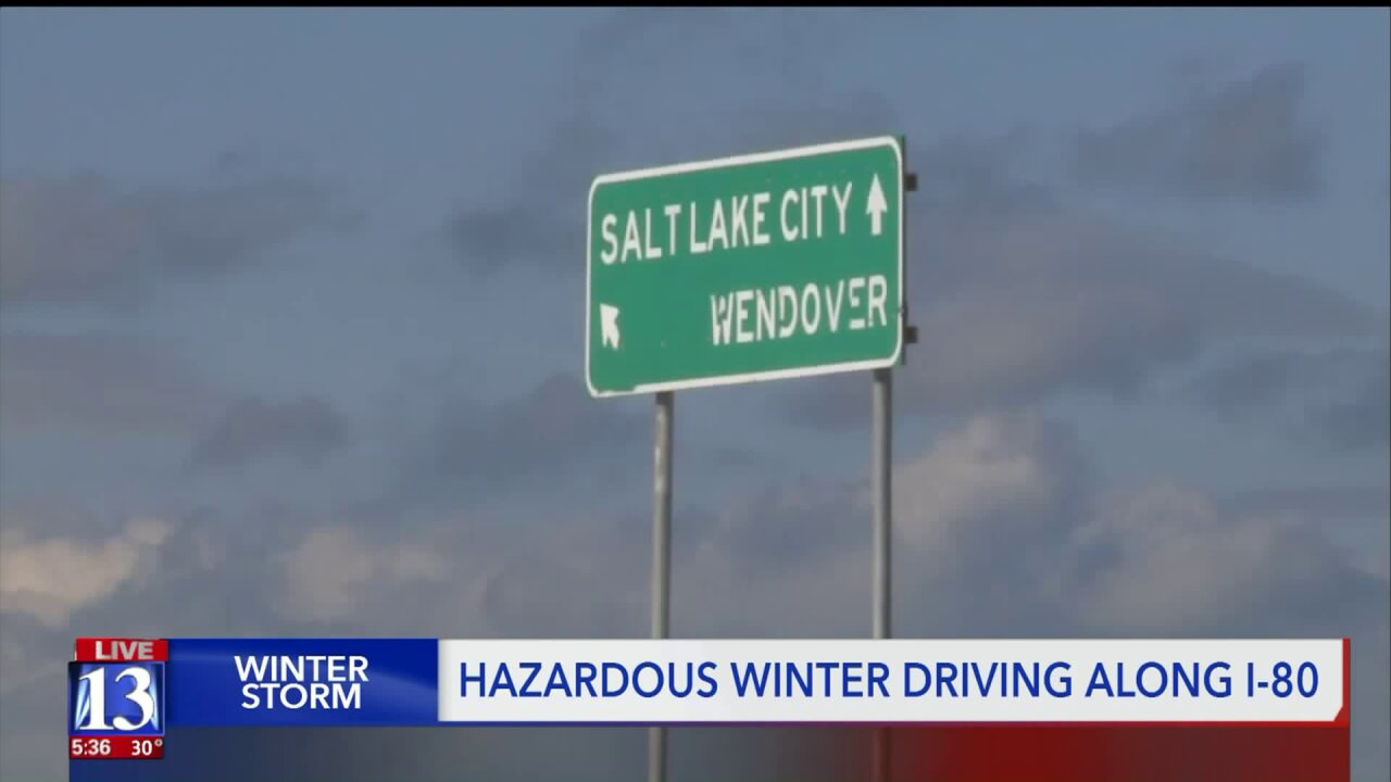New study shows I-80 in Tooele among deadliest roads in thecountry