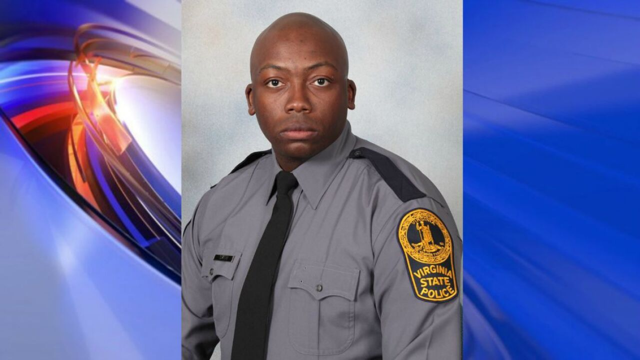 Virginia State Trooper Smith, killed in interstate crash, just celebrated anniversary