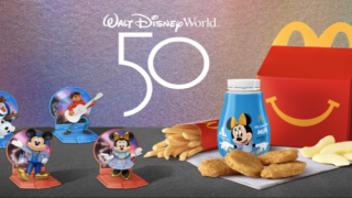 McDonald's Releasing 50 Different Happy Meal Toys For Disney World's 50th Anniversary