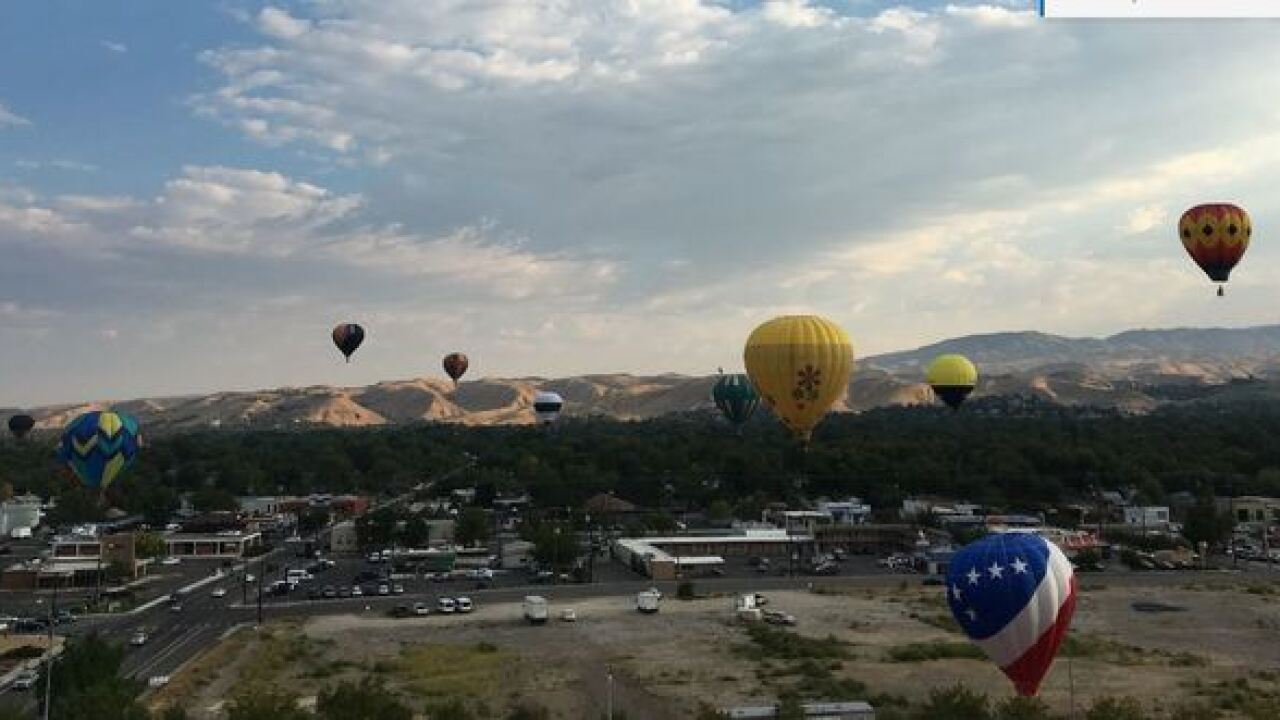 Boise … from 200 feet in the air!