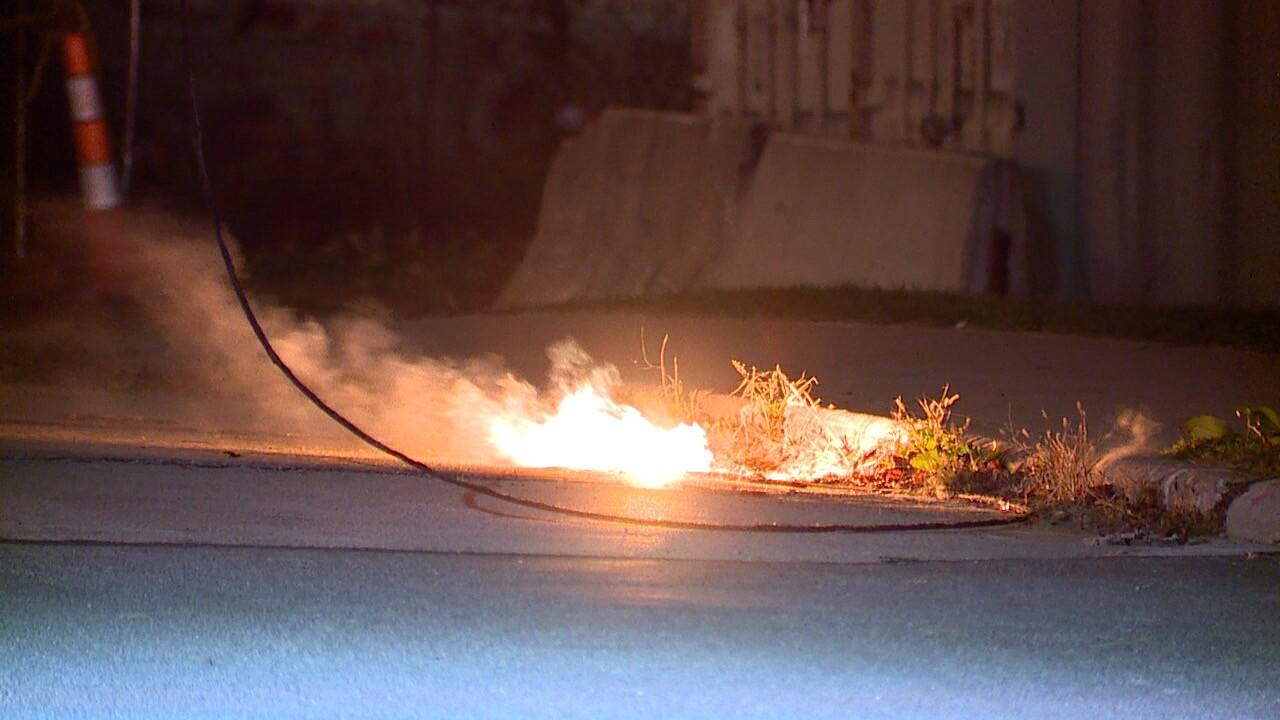 Merwin wire down on fire 1.jpg