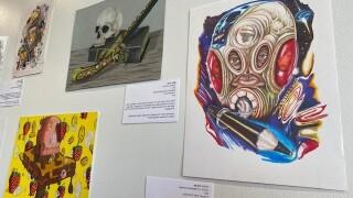 Chained Voices art exhibit.jpg