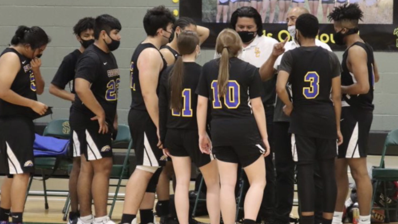 Valley sisters playing on boys' basketball team due to COVID-19