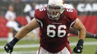 Alan Faneca set the tone on the Steelers' offensive line during his 10 years in Pittsburgh and the six-time All-Pro guard did the same in two seasons with the New York Jets and one with the Arizona Cardinals. AP photo.