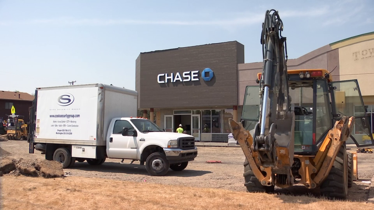 A man was critically injured after a bank vault fell on top of him at a Billings Heights construction site