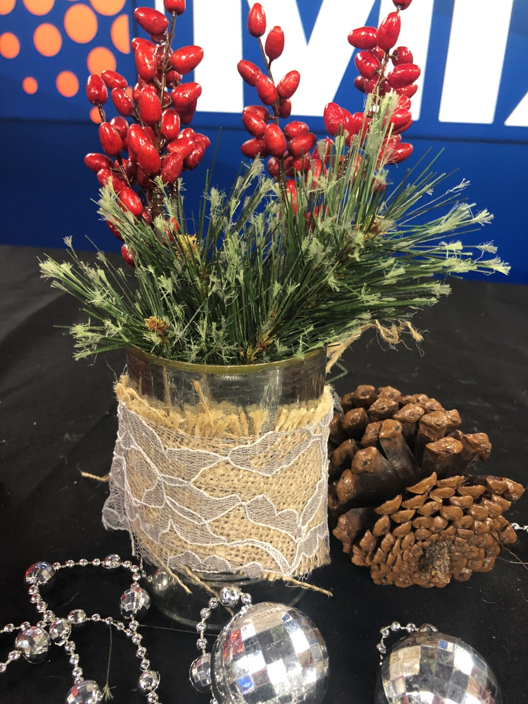 Upcycled Centerpiece