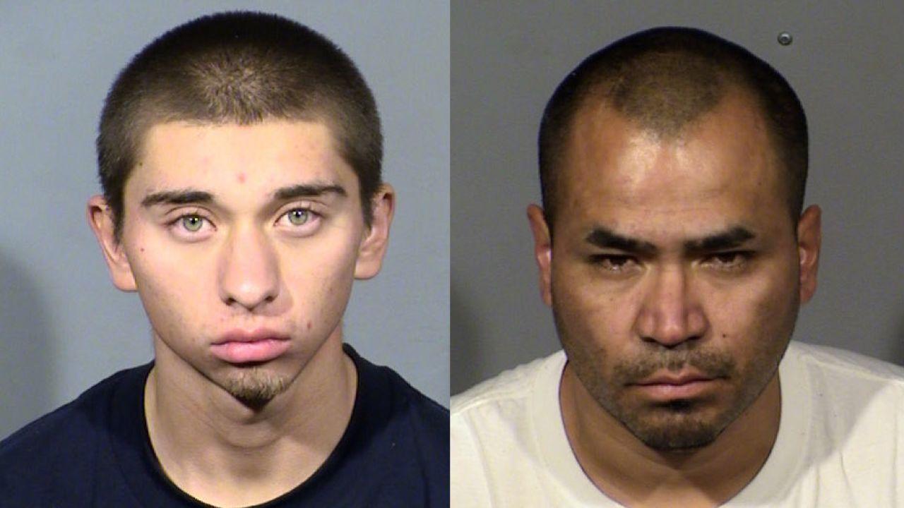 Oscar Reyes (left) and Gerardo Aparicio (right) mugs LVMPD.jfif