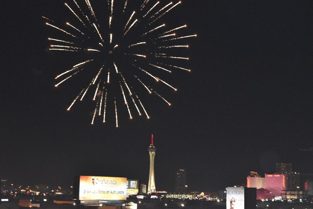 PHOTOS: 2017 Fourth of July fireworks in Las Vegas  4th
