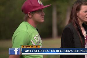 Family searches for dead son's belongings after storage unit fiasco