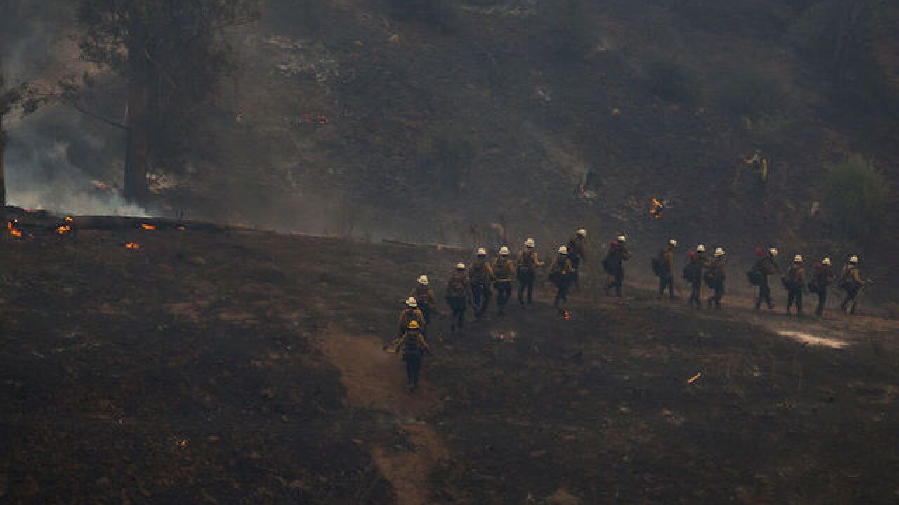 Thomas Fire now 3rd-largest wildfire in Calif.