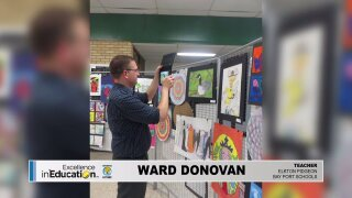 Excellence in Education – Ward Donovan