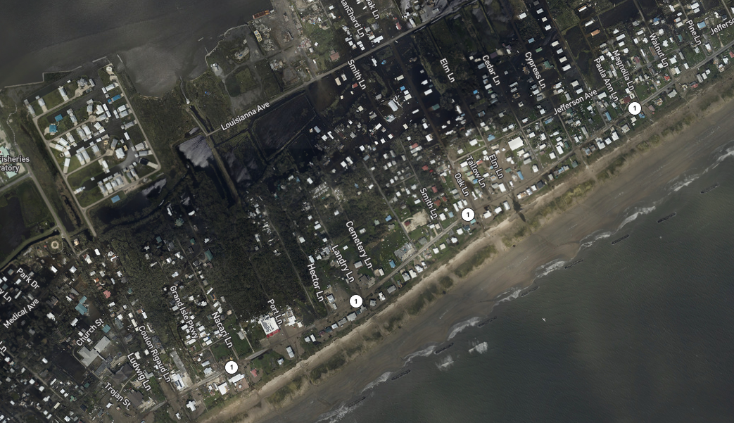 NOAA aerial damage map.PNG