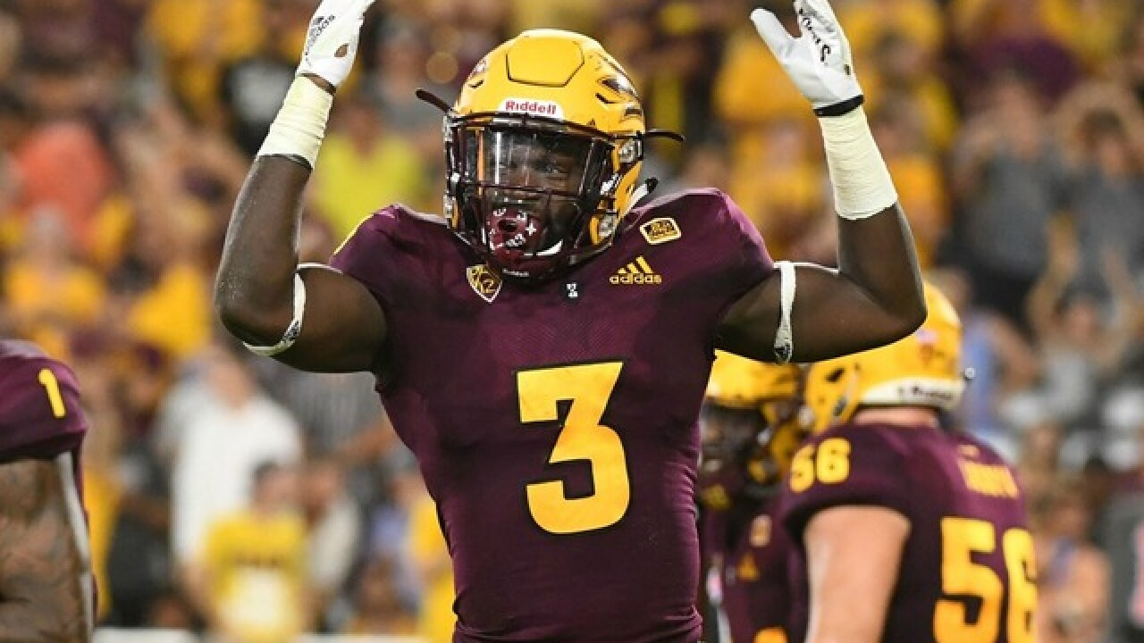 ASU's Eno Benjamin shatters school record for rushing yards in a game