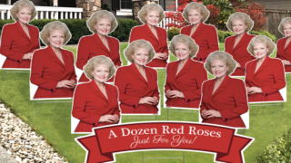 Surprise Your 'Golden Girls'-loving Valentine With A Yard Full Of Red 'Roses'