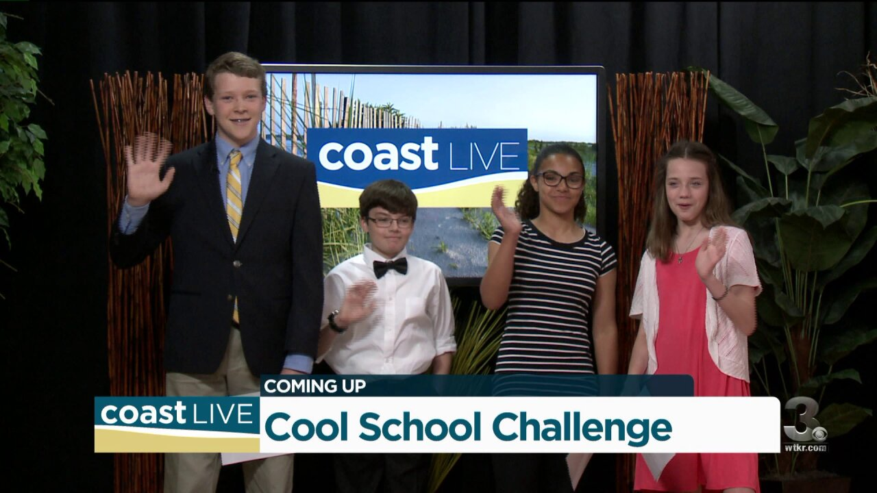 Student hosts from the Cool School Challenge join us on Coast Live
