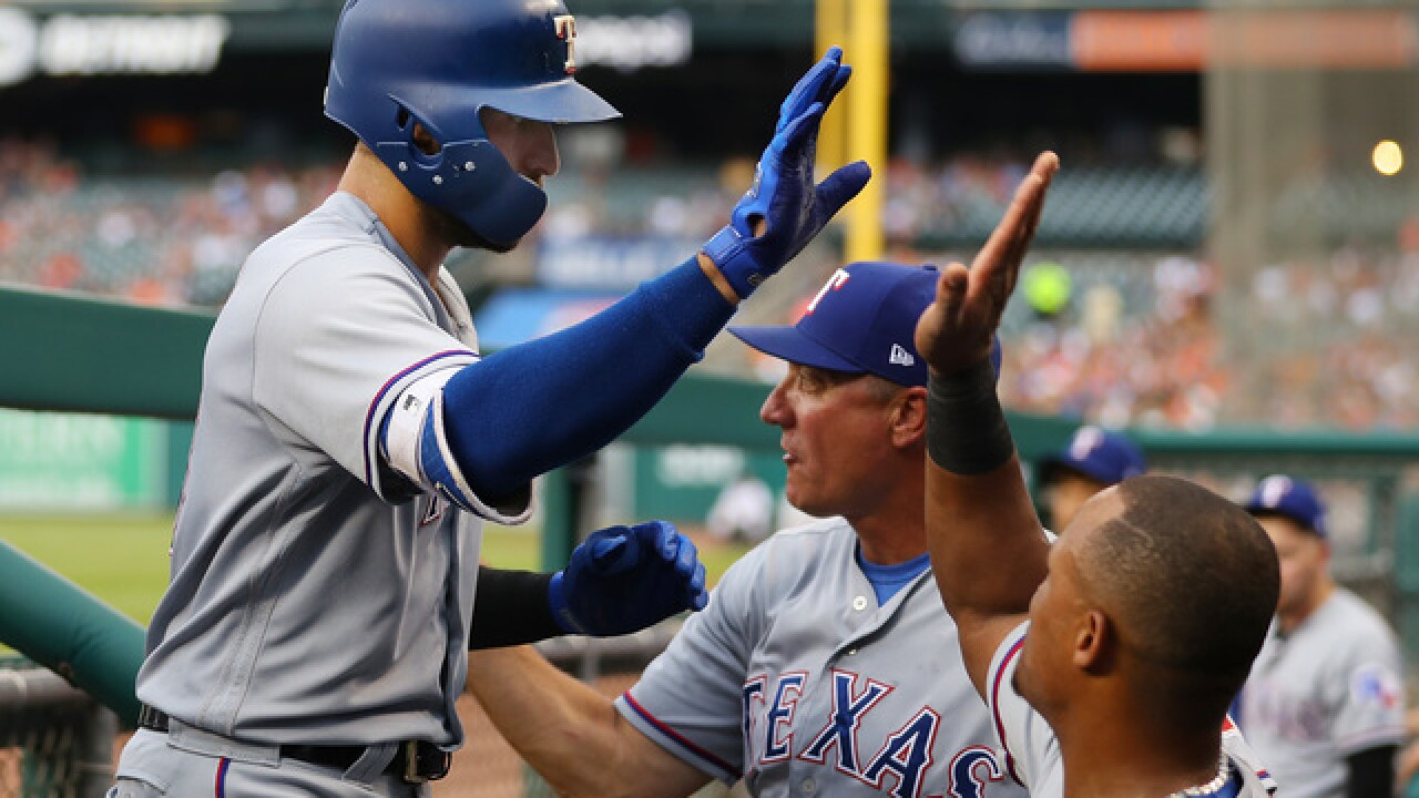 Joey Gallo, Ronald Guzman lead Rangers to win over Tigers