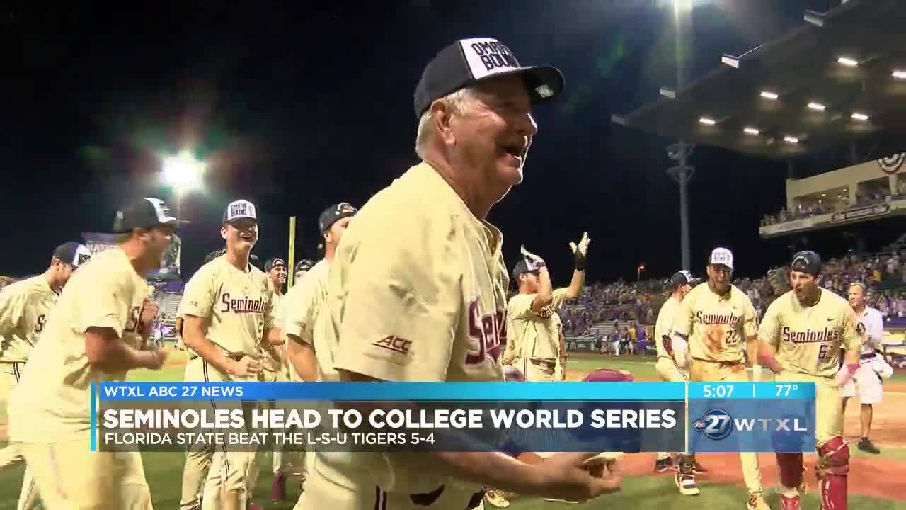 Walk-Off Sends Noles to Omaha