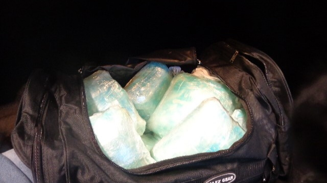 Woman tries to smuggle meth with 7-year-old in car, Border Patrol says