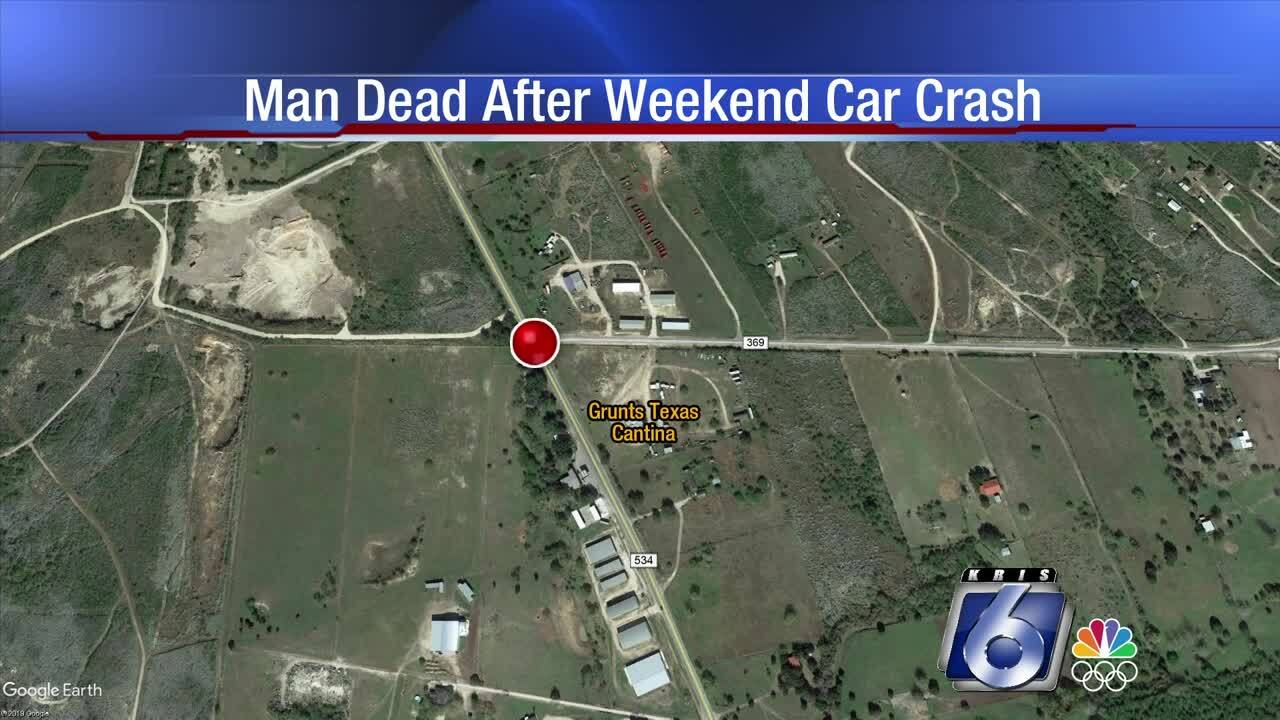 82-year-old man dies of injuries after an auto accident near Sandia.