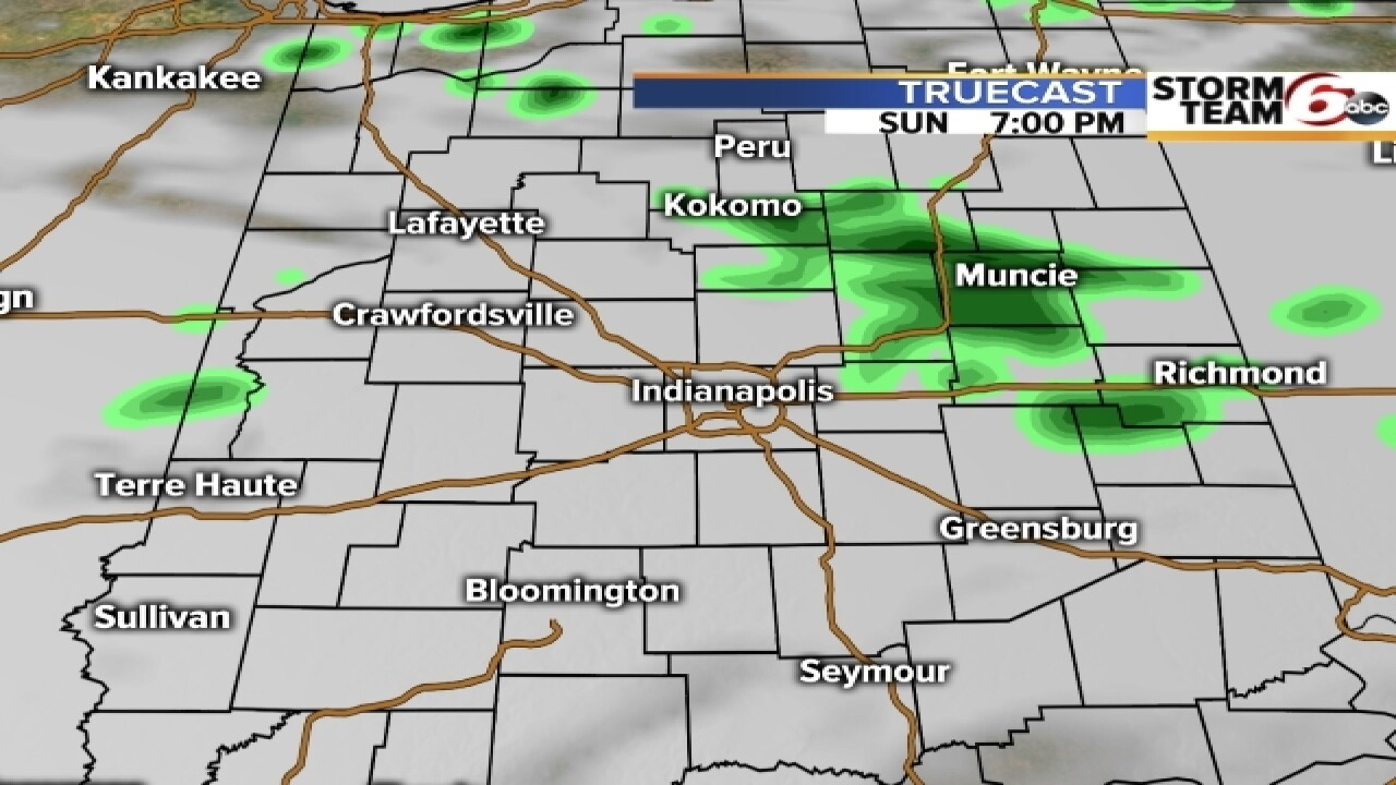 TIMELINE: When will you see rain today?