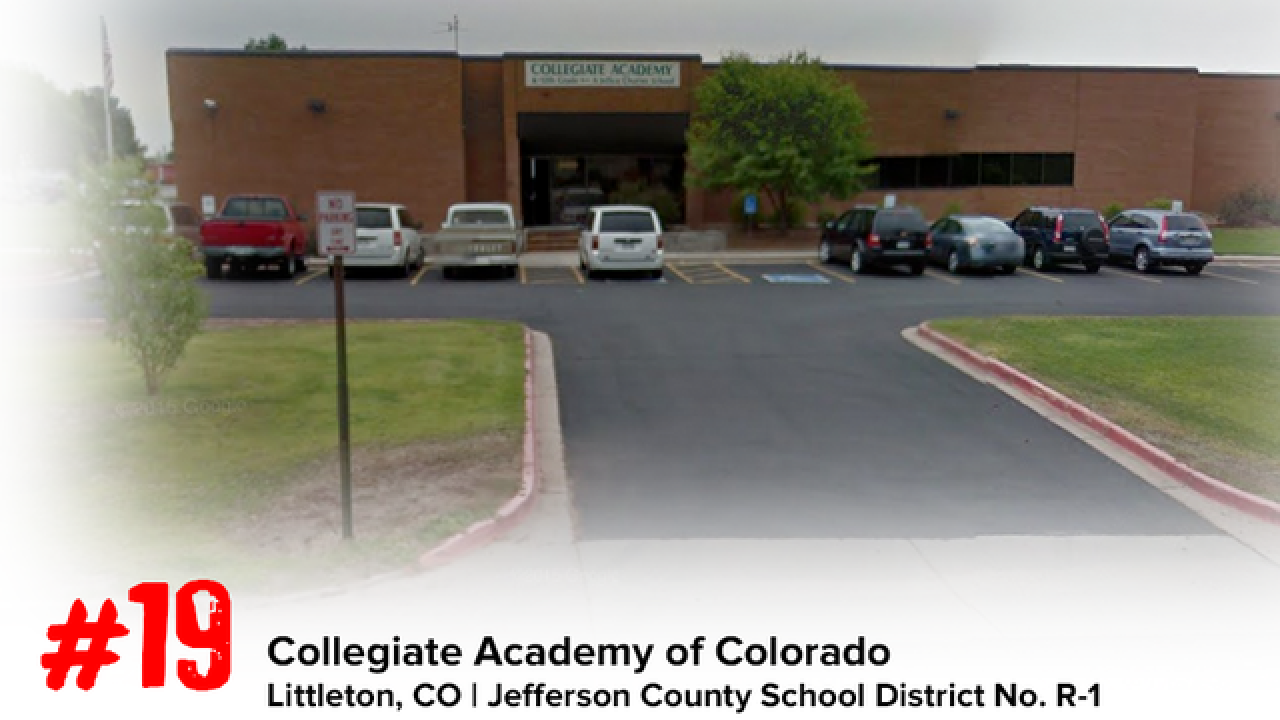 These are the 30 best high schools in Colorado
