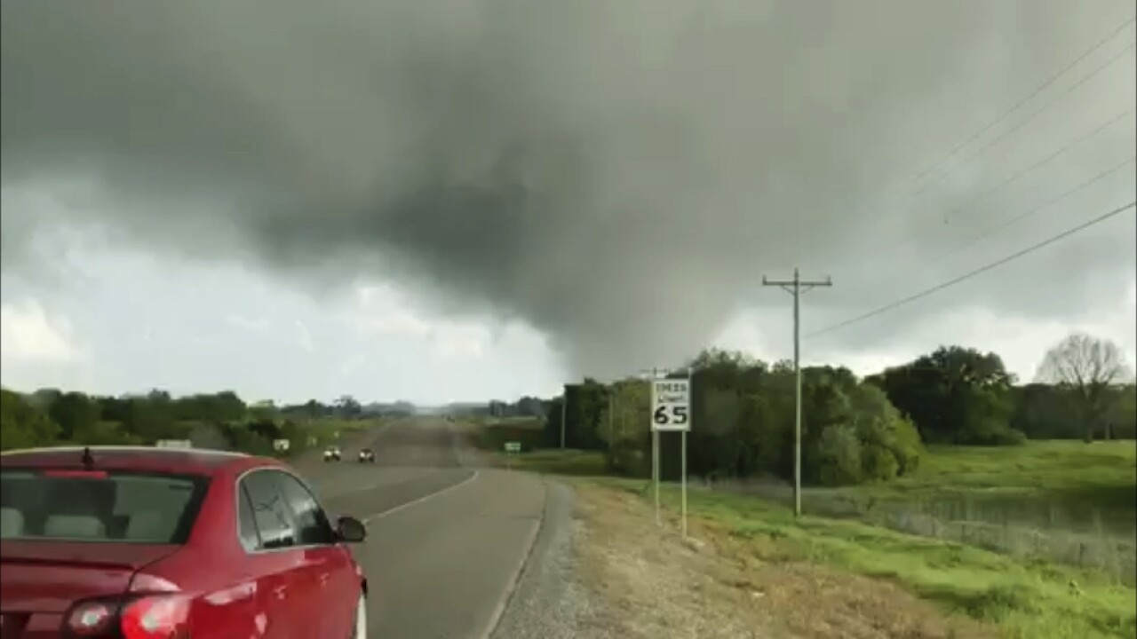 Five dead after severe weather tears through Texas, Oklahoma, Louisiana