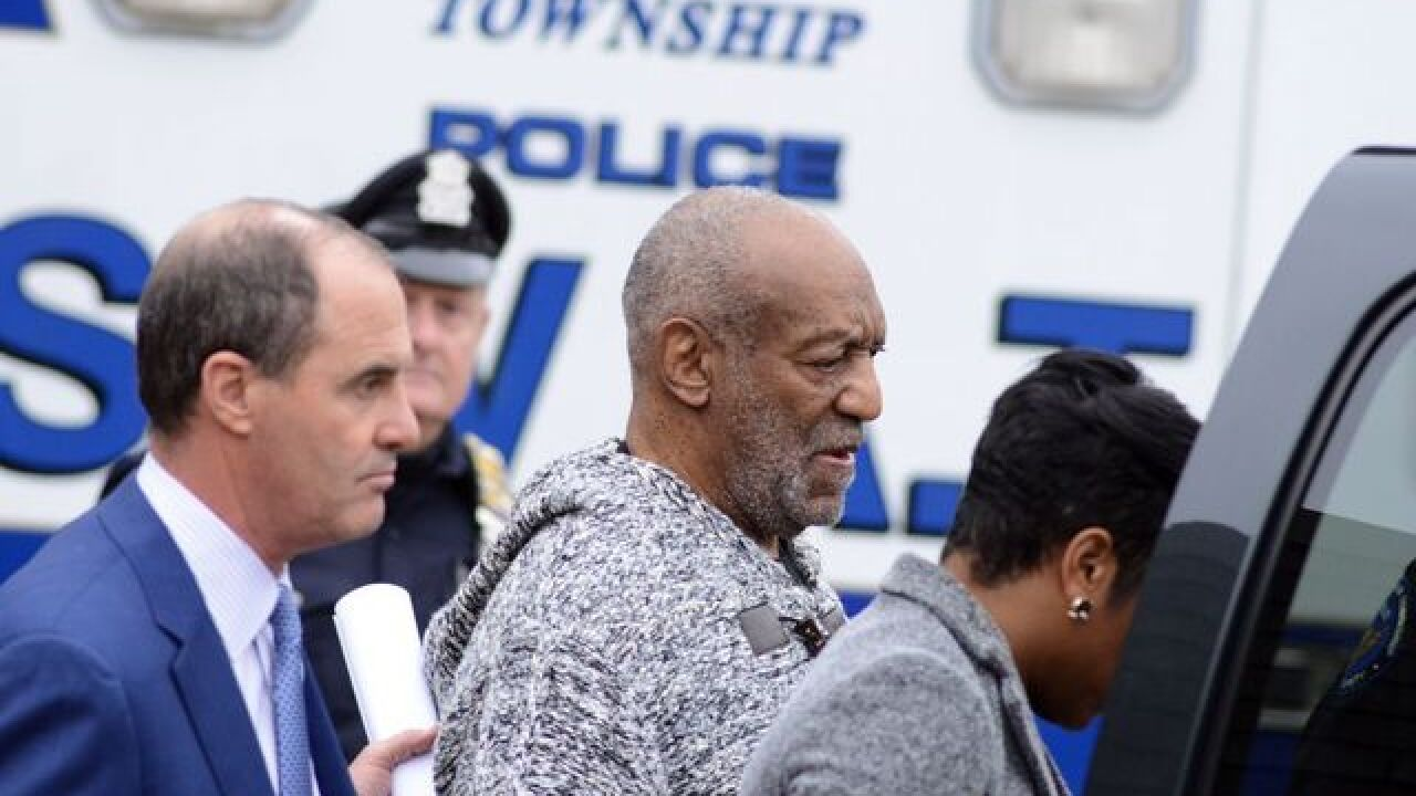 Appeals court puts Cosby's criminal case on hold