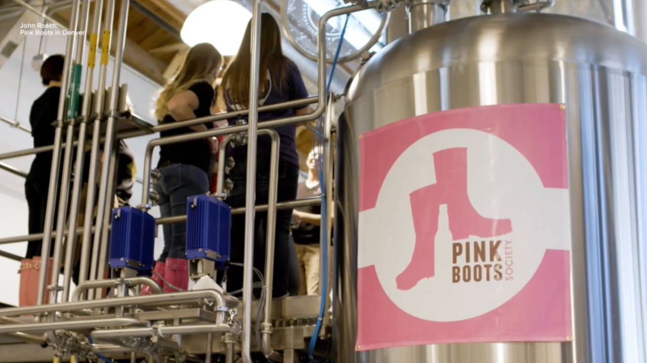 Group aims to get more female brewers in beer industry