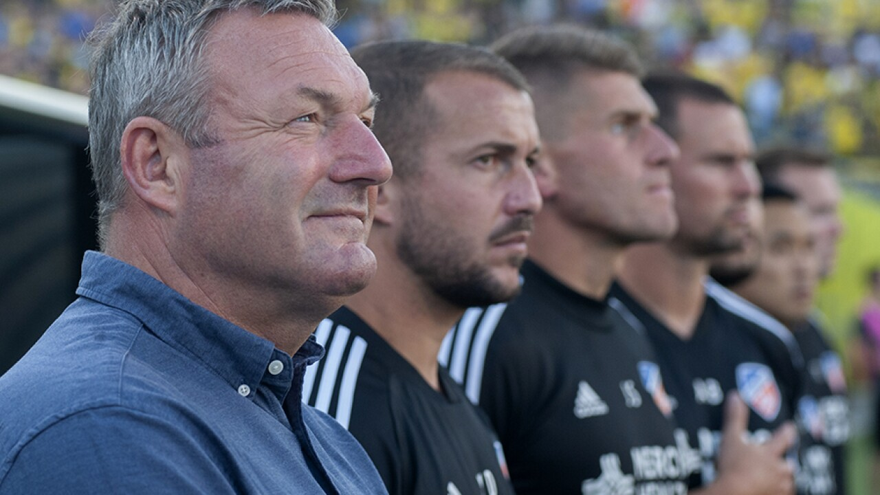 FC Cincinnati coach resigns amid allegations that he used racial slur in front of players