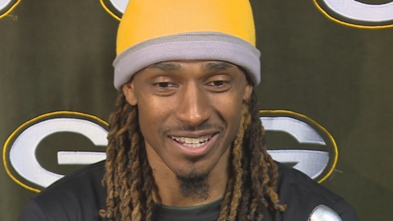 Tramon Williams looks to 'get things in order'