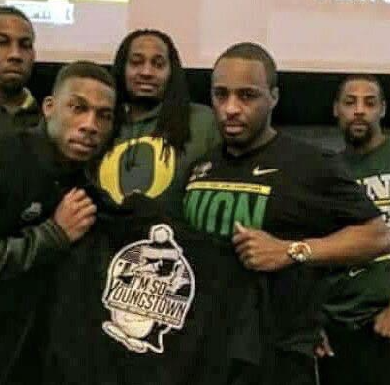 Troy Hill and brothers in Oregon